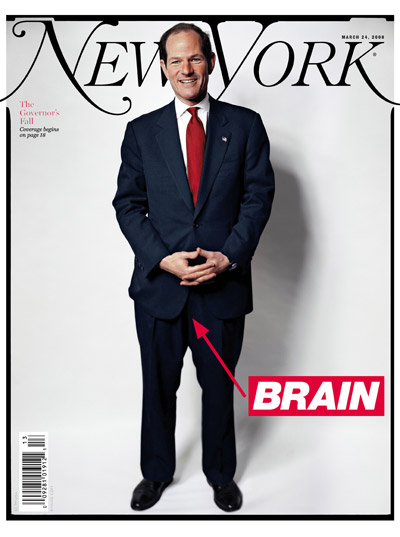 Cover boy, Spitzer